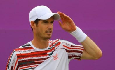 Andy Murray kan zege op gras geen vervolg geven in Londen