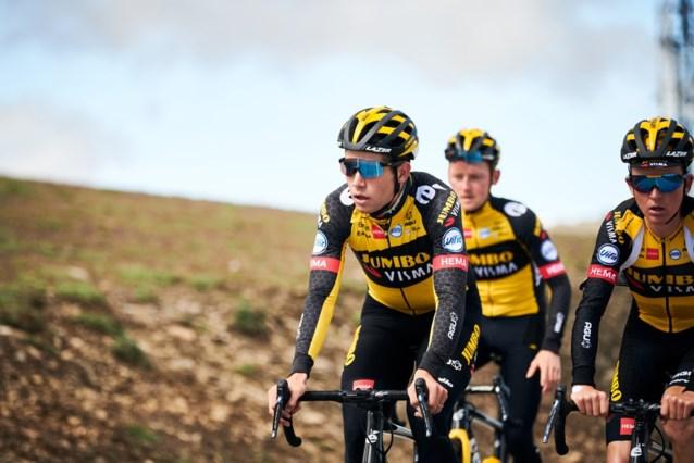 """Wout van Aert gretig voor Tour de France na hoogtestage: """"Kan niet wachten om weer rugnummer op te spelden"""""""