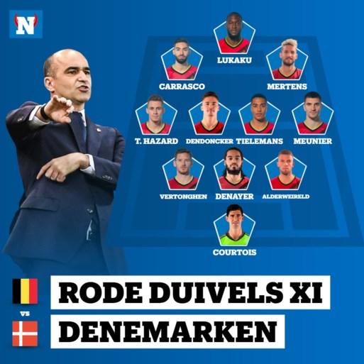 Jason Denayer vervangt Dedryck Boyata in hart van defensie, Jan Vertonghen start toch: bekijk hier de opstelling van de Rode Duivels