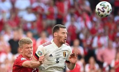 """REACTIES. Jan Vertonghen na de moeilijke zege tegen Denemarken: """"Hun systeem verraste ons toch wat"""""""