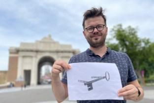 """Tientallen bronzen sleutels sieren straks Ieperse voetpaden: """"Ze geven toegang tot vergeten burgerslachtoffers van de oorlog"""""""