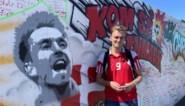 """Onze reporters trokken op bedevaart met Deense fans naar de muur van Eriksen: """"De match tegen de dood hebben we al gewonnen"""""""