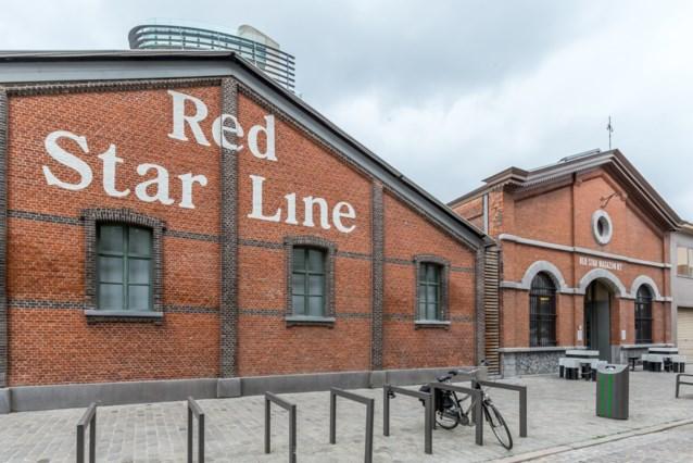 Antwerps Red Star Line Museum even gesloten na instorting gevel in de buurt