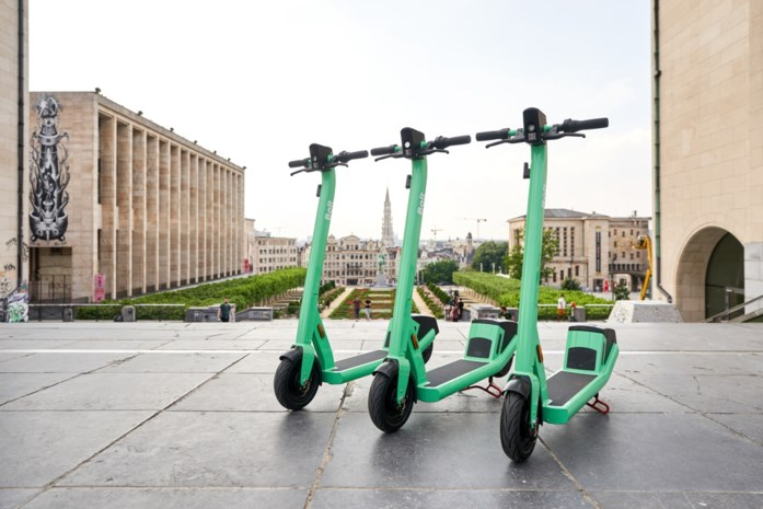 Brussel krijgt er 1.100 groene deelsteps bij dankzij Bolt
