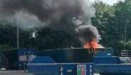 Recyclagepark van Lanaken gesloten door uitslaande brand in container