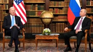 Biden en Poetin: voor sfeer en gezelligheid een nul