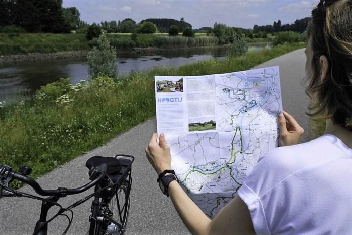 Voor ieder wat wils: drie maanden wandelen en fietsen met het water als rode draad