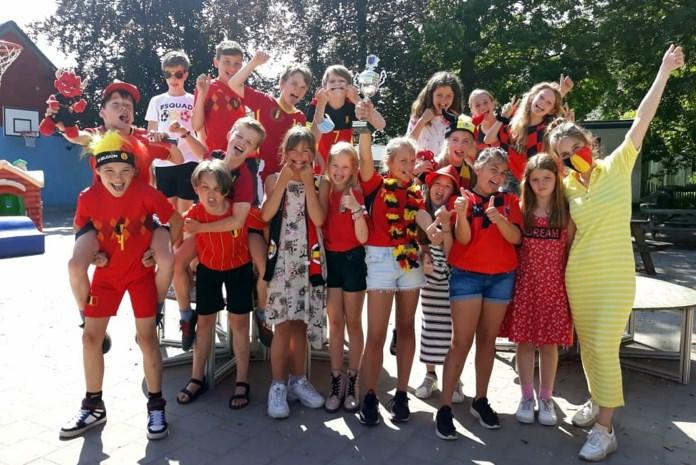 Rode Duivels van VBS De Sprankel hebben de beker van LoS for Kids binnen