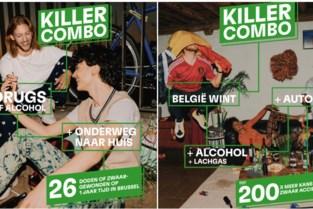 Campagne moet jongeren bewuster maken van 'Killer Combo' alcohol, drugs en verkeer
