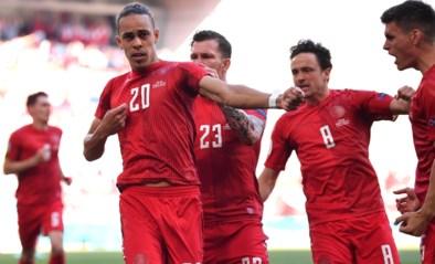Denemarken zorgt voor huzarenstukje tegen Rode Duivels: goal Yussuf Poulsen was op één na snelste ooit op EK voetbal
