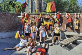 Vrije basisschool even supportersclub Rode Duivels