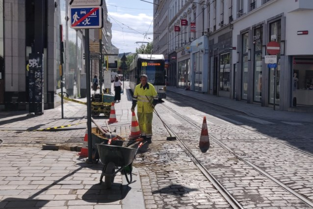 """Minder 'Parijs - Roubaix' op Koophandelsplein: """"Kasseien Veldstraat ook aangepakt"""""""