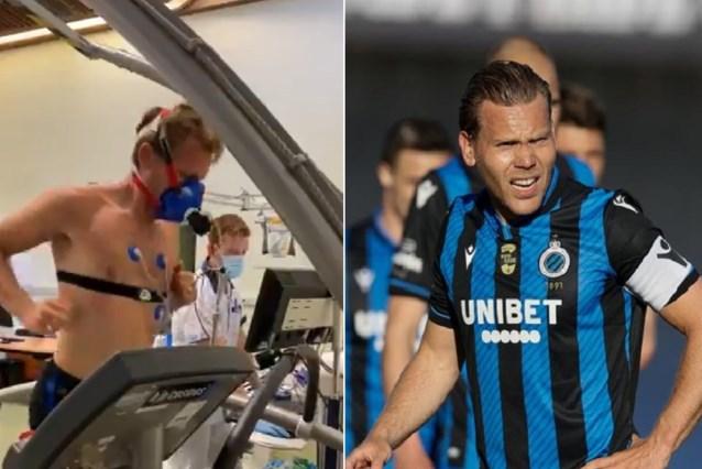 Ruud Vormer en co. gaan tot het gaatje tijdens medische tests bij Club Brugge (dat oefenprogramma bekendmaakt)