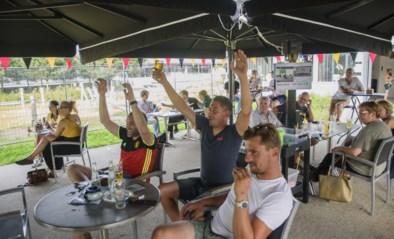 Vijftigtal supporters zien Duivels winnen bij eetcafé Blikveld