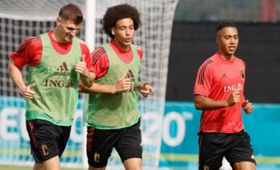 De Bruyne, Witsel en Eden Hazard nog niet aan de aftrap: dit is de verwachte opstelling van de Rode Duivels
