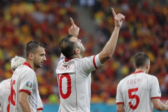 Hij flikt het! 37-jarige Goran Pandev scoort voor Noord-Macedonië en wordt op één na oudste doelpuntenmaker ooit op EK