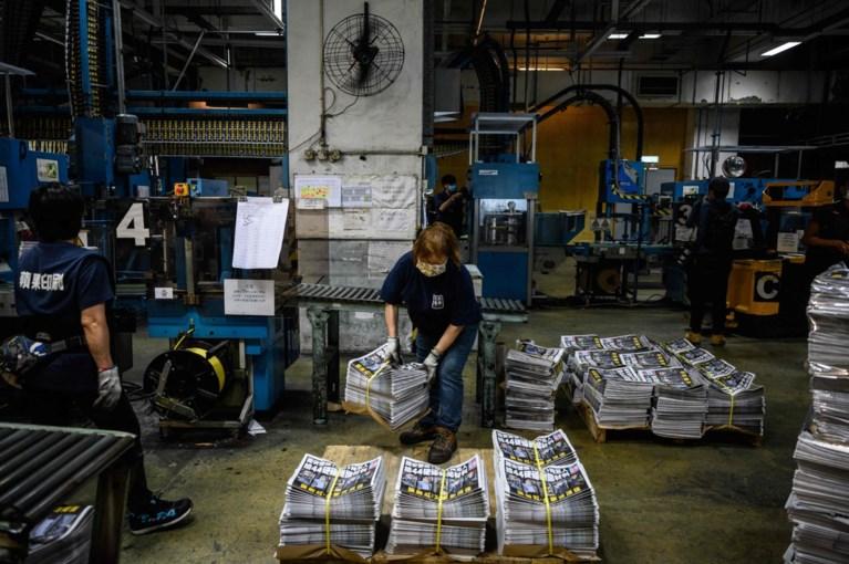 Uitgever en hoofdredacteur prodemocratische krant Hongkong aangeklaagd
