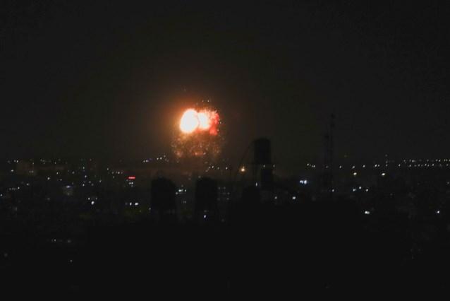 Israël bombardeert Gazastrook opnieuw na aanvallen met brandballonnen