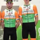 Han Devos, hier met Niels Merckx (l) op archieffoto, won de spurt in Rigenée.