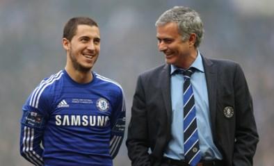 """Mourinho over Eden Hazard: """"Geweldige voetballer die verschrikkelijk traint"""""""