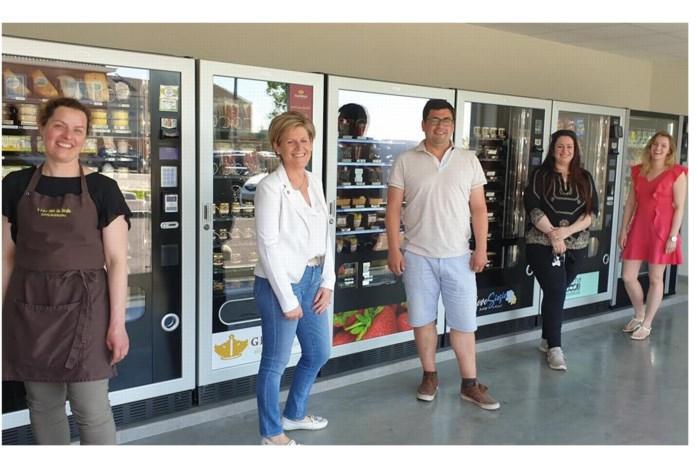 Van pizza's tot ijsjes: acht ondernemers vullen samen automaten
