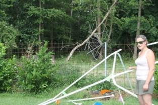 Onweer richt schade aan in Leopoldsburg en Lommel