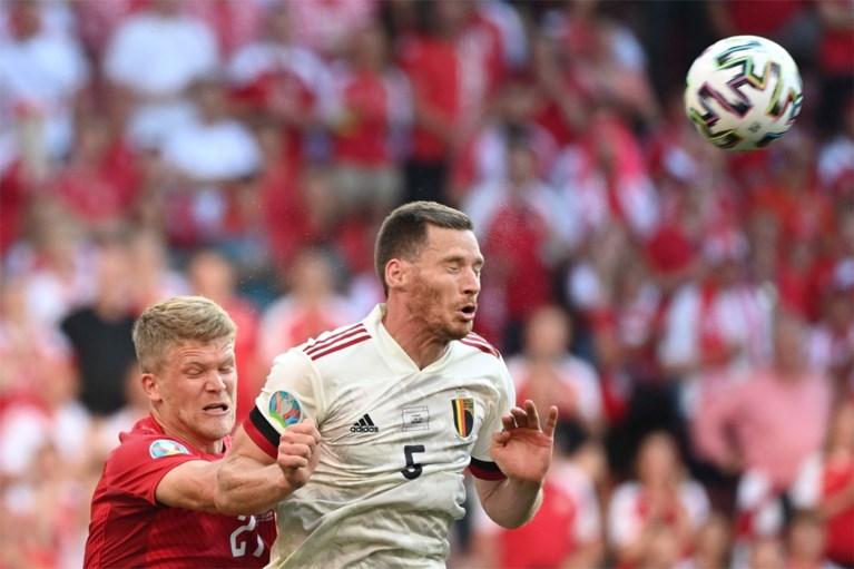 """REACTIES. Romelu Lukaku spreekt duidelijke taal na felbevochten zege tegen Denemarken: """"Eerste helft was dramatisch"""""""