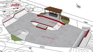 Nieuw skatepark en permanente DJ-booth op dorpsplein Eksaarde