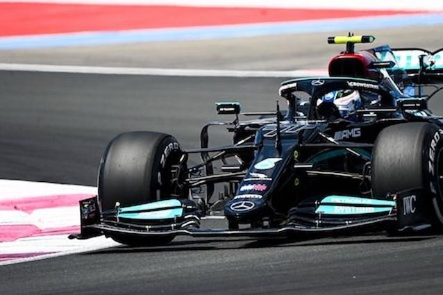 Mercedes bovenaan, verschillende rijders in de fout tijdens eerste oefensessie GP van Frankrijk