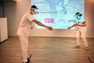 Limburgse Zorgacademie leert met VR-bril aspiratiesonde inbrengen