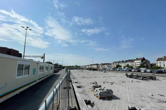 Gedaan met de chaos. Bouw nieuwe fietsenstalling aan station Dampoort begonnen