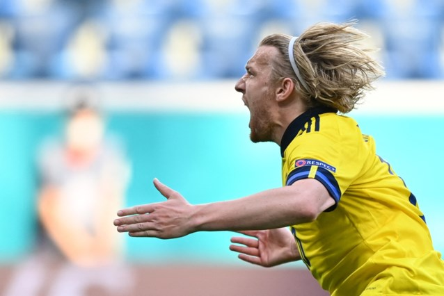 Zweden neemt na slaapverwekkende vertoning de maat van Slovakije dankzij penalty en doet goede zaak in groep E
