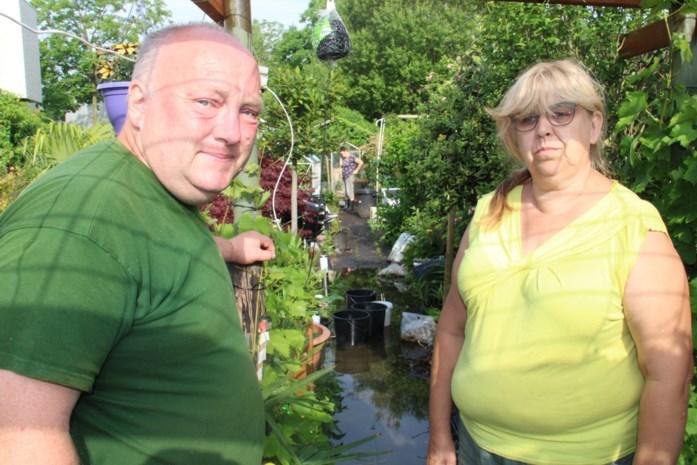 """Pasgetrouwden Henk en Christa gaan op week tijd van hemel naar hel: """"Huwelijksreis uitgesteld om tuin te verzorgen, nu staat hier halve meter water"""""""