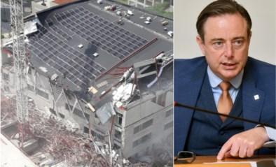 """De Wever na ingestorte nieuwbouw: """"Mijn gedachten zijn bij slachtoffers en hun naasten"""""""