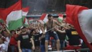 Waanzinnige taferelen in Boedapest: Hongaren gaan uit hun dak na doelpunt en gelijkspel tegen Frankrijk