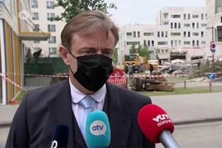 """Bart De Wever over ingestorte school: """"Gebouw moet wellicht worden afgebroken"""""""