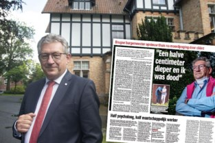 """""""Elke avond verzorg ik het litteken"""": jaar geleden overleefde burgemeester Dirk De fauw moordpoging"""