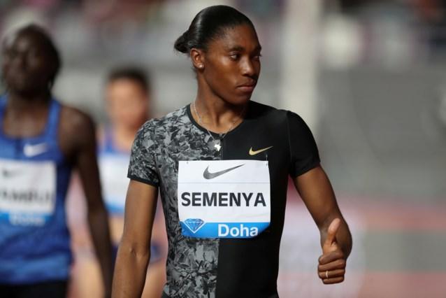Veelbesproken Caster Semenya ontbreekt op Olympische Spelen in Tokio