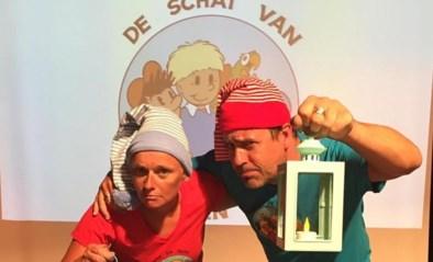 Wim Geysen met Sprokkels in Mimuze en als Fonne & Filou voor Intersoc