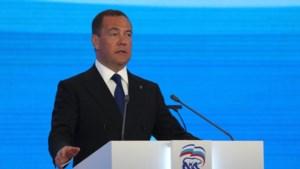 Poetin geeft voormalig Russisch president Medvedev geen prominente plaats meer op kieslijst