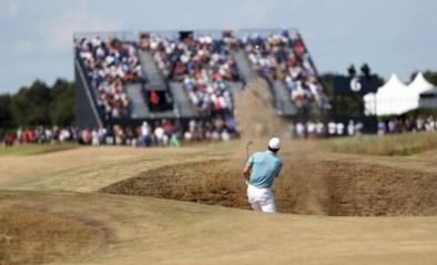Ruim 30.000 fans per dag mogen testevent British Open Golf bijwonen
