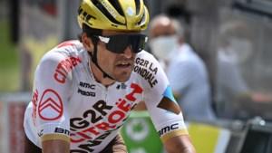 Op verzoek van de grootmoeders en dochter Fleur: Greg Van Avermaet rijdt opnieuw met gouden helm in Dauphiné