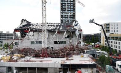 Dronebeelden tonen ravage na instorting basisschool in aanbouw