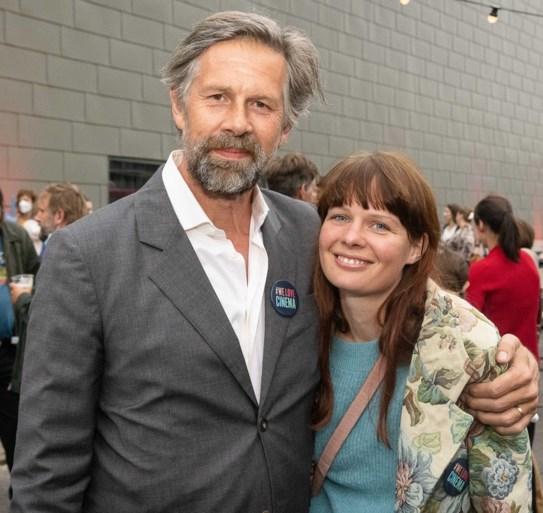 Boris Van Severen en Frances Lefebure voor het eerst samen op rode loper