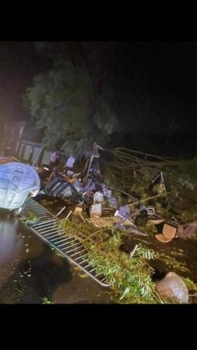 Tiental gewonden door stormweer in Wallonië, ook vandaag nog onweer in de lucht