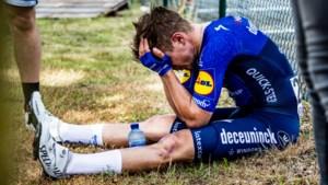 """Remco Evenepoel moet tevreden zijn met brons in Waregem: """"Wout deed alsof mijn aanvallen niets voorstelden"""""""