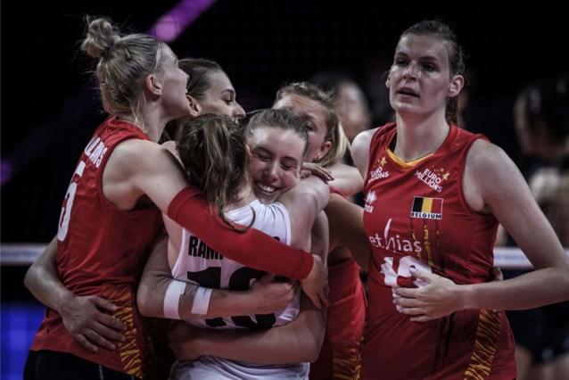 Yellow Tigers winnen met 3-2 van Italië in Nations League volley