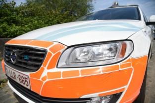Gewonde bij ongeval tussen auto en bromfiets in Hasselt