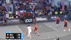 Belgische 3x3 basketters openen hun olympisch toernooi tegen Letland