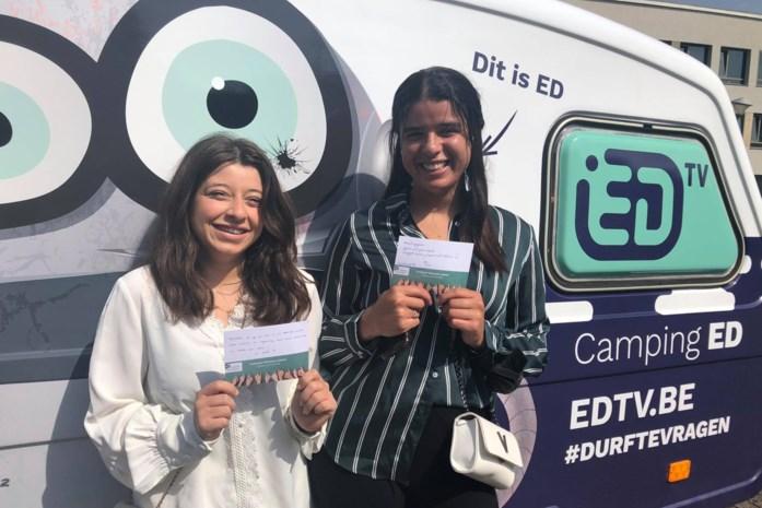 Leerlingen maken  feelgoodkaartjes voor wie het moeilijk heeft: positieve boodschap meer dan ooit nodig